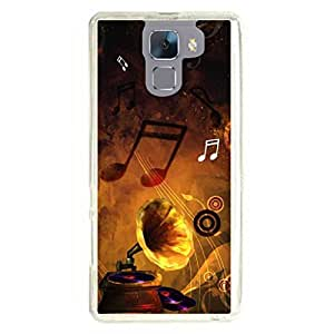 a AND b Designer Printed Mobile Back Cover / Back Case For Huawei Honor 7 (HON_7_023)