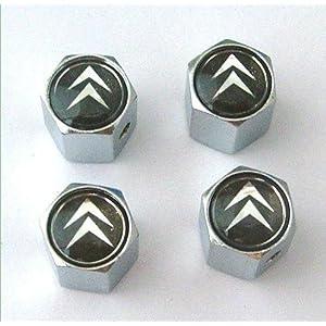 Citroen Anti-theft Car Wheel Tire Valve Stem Caps