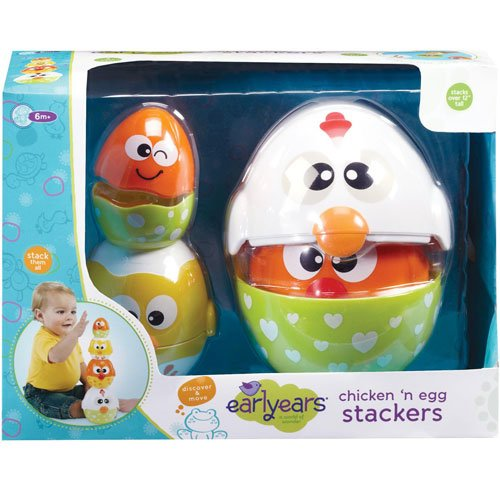 Earlyears Chicken 'n Egg Stackers - 1