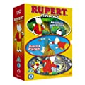 new Rupert The Bear triple pack 3 DVDs adventures with rupert 3 hours long