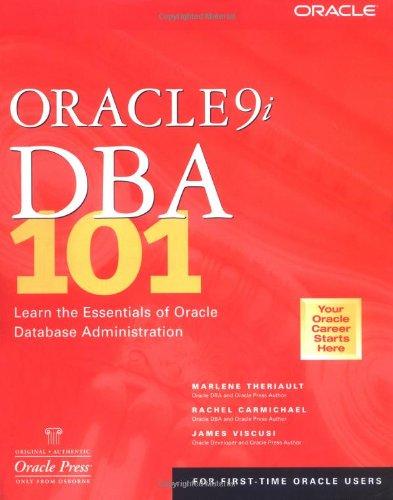 Oracle9i DBA 101