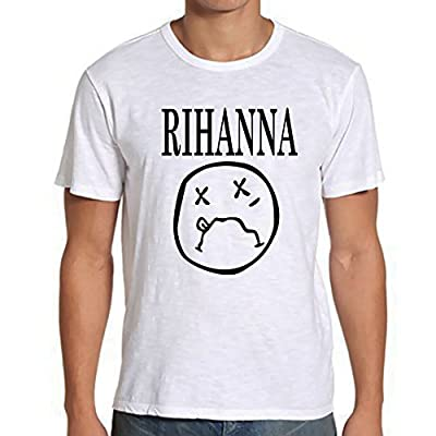 Nirvana Rihanna Shirt For Tshirt Men SF