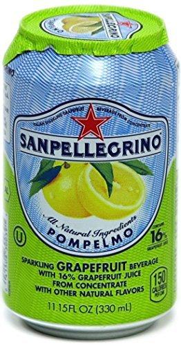 San Pellegrino Pompelmo (Grapefruit) 11.15 Oz (Case Of 24)