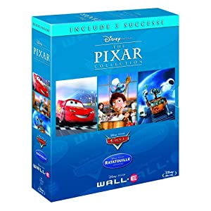51GzYAH5gFL. SL500 AA300  Pixar Collection [Blu Ray] Cars, Ratatouille & Wall E für 19,92€ inkl. Lieferung