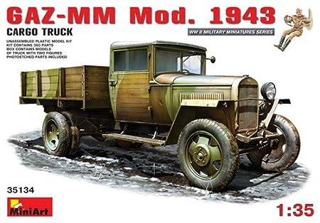Mini Art 1/35 GAZ-MM Mod.1943 1.5t Cargo Truck # 35134