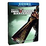 Inglourious Basterds (SteelBook Edition) [Blu-ray + DVD] (Bilingual)by Brad Pitt
