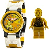 LEGO Kids Star Wars C3PO Watch And Mini Figure