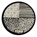 hehe Stainless Geometric Nail Image Stamp Stamping Plates Template (Color : #03)