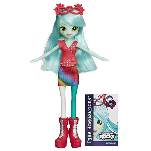 My Little Pony Equestria Girls Rainbow Rocks Lyra Heart Strings Doll