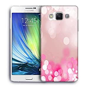 Snoogg Pink lock haze Designer Protective Back Case Cover For Samsung Galaxy A7