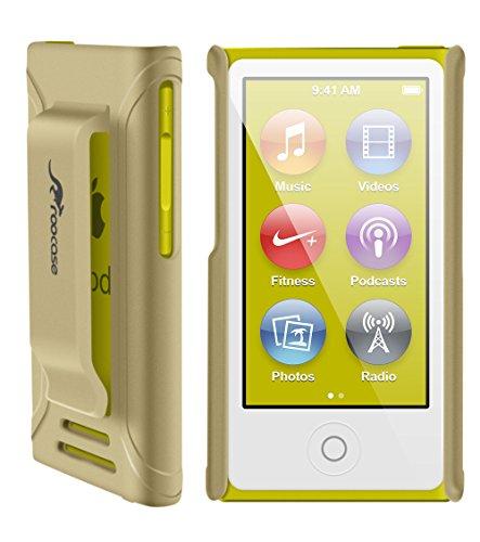 iPod Nano 7 Case - roocase Ultra Slim Fit (Champagne Gold) Shell Case Cover for Apple iPod Nano 7 (7th Generation)