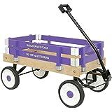 Berlin Amish-Made Pee-Wee Flyer Wagon Ride On, Purple