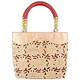 Venus Women's Shoulder bag Golden and Red