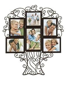 Malden Ironworks Family Tree collage Frame, 6 Opening