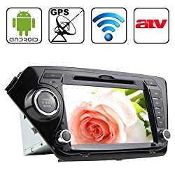 See Rungrace 8.0 inch Android 4.2 Multi-Touch Capacitive Screen In-Dash Car DVD Player for KIA K2 with WiFi / GPS / RDS / IPOD / Bluetooth /ATV Details