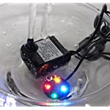 Bomba de fuente Jebao PP333LV LED 66 GPH.