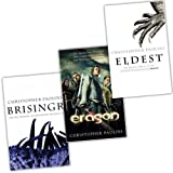 Christopher Paolini Christopher Paolini 3 Books Inheritance Cycle Trilogy Collection Pack Set (Eldest , Eragon , Brisingr)