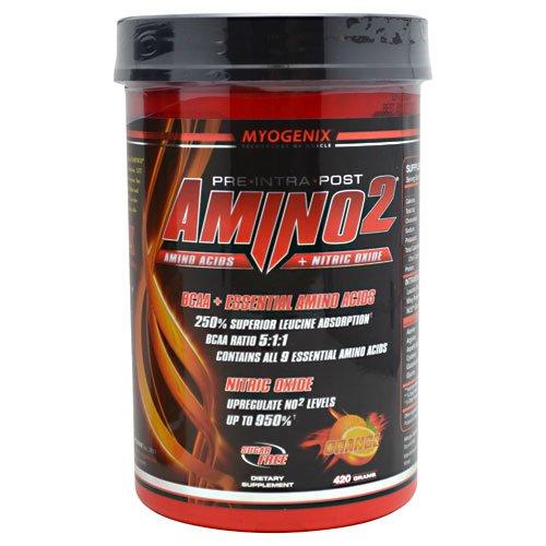 Myogenix Amino2 - Orange, 420 Grams