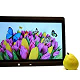 15.4 Inch Digital Photo Frames Full HD 1080P with 16GB Memory and Motion Sensor