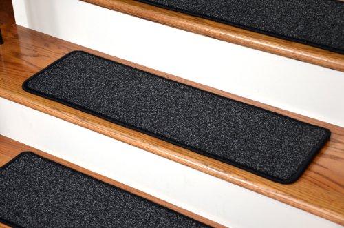 Dean Premium New Zealand Wool Carpet Stair Treads - Monet Night Sky (13) 36