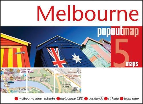 Melbourne Popout carte (cartes Popout)