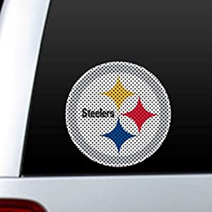 NFL PITTSBURGH STEELERS Car Truck Window Film DECALS See Through For Safety!
