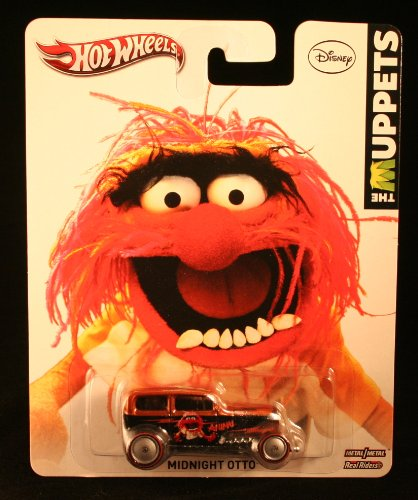 Hot Wheels The Muppets Animal Midnight Otto Rust/Black - 1