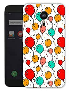 "Humor Gang Balloons Cute Pattern Printed Designer Mobile Back Cover For ""Meizu Mx5"" (3D, Matte, Premium Quality Snap On Case)"
