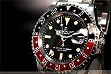 [CHRONOTAC]腕時計 英軍ブロードアロー自動巻 GMTマスター CT3 メンズ[正規輸入品]