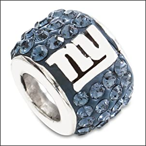 NFL New York Giants Premier Bead
