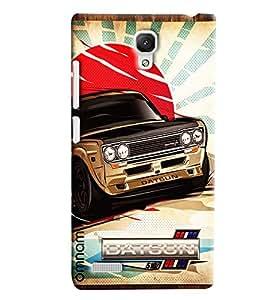 Omnam Datsun Car Printed Designer Back Cover Case For Xiaomi Redmi Note