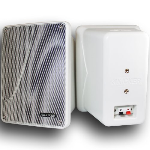 "Kicker 11 Kb6000W White 6-½"" Marine Speakers"