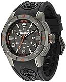 Timberland - TBL.13849JSU/61 - Altamont - Montre Homme - Quartz Analogique - Cadran Multicolore - Bracelet Résine Noir