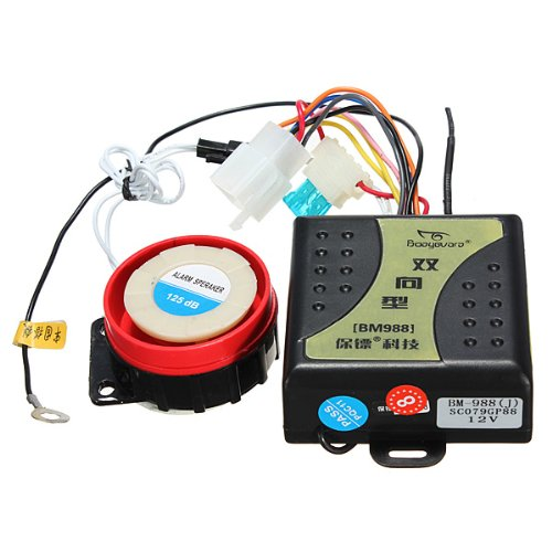Motorcycle Anti-Theft Device Two-Way Alarm Cut-Ray Bm-988 front-483686