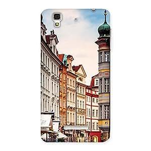Premium Prague Street Multicolor Print Back Case Cover for YU Yureka Plus