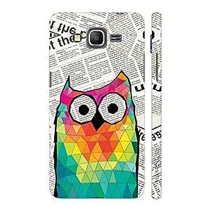 Enthopia Designer Hardshell Case Smart Owl Back Cover for Samsung Galaxy J2