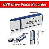 Maxpro USB ボイスレコーダー フラッシュドライブ8ギガバイト Maxpro USB Voice Recorder Flash Drive Memory 8gb Digital
