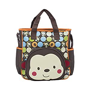 buy ez life baby diaper carry bag monkey multicolor large online at low. Black Bedroom Furniture Sets. Home Design Ideas