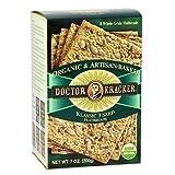Doctor Kracker Organic and Artisan-Baked Flatbread, Klassic 3 Seed, 7-Ounce Packages (Pack of 6) ~ Doctor Kracker