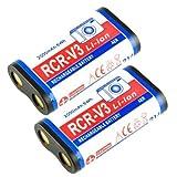 Pack of 2 Battery 3.0V 2000Mah For Odak: Cr-V3 Kcrv3