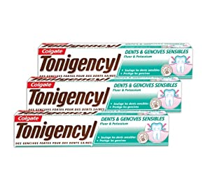 Tonigencyl - Dents & Gencives Sensibles Dentifrice - 75 ml - Lot de 3