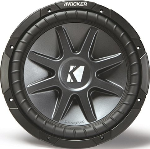 Kicker 10Cvr102 10 Compvr Dual Voice Coil Subwoofer