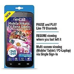 NEXGTV 349, 3-Month, Mobile TV Subscription Pack