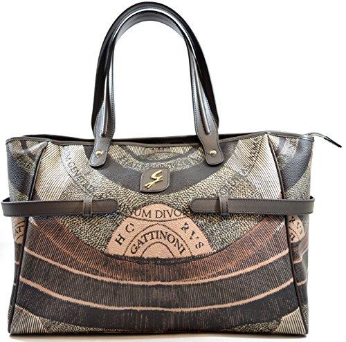 Gattinoni Damen Bag Diana Shoulder Bag 2 Reißverschluss Cm 37x26x17