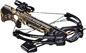 Barnett Ghost 350 CRT Crossbow Package (Quiver, 3 - 20-Inch Arrows and Illuminated... by Barnett Crossbows
