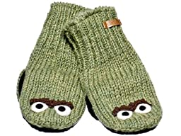 Knitwits Little Kids\' Oscar the Grouch Knit Wool Mittens