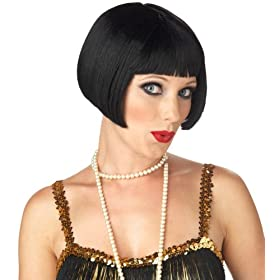 California Costume Women's Flirty Flapper Wig