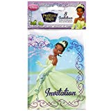 Disney The Princess and the Frog Party Invitations [8 per pack]