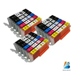 15 PacK Compatible Ink Cartridge Repl...