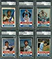 1976 Hostess Baseball Cards Signed Complete Set Of 150 W/ Thurman Munson - PSA/DNA Certified - Autographed Baseball Cards